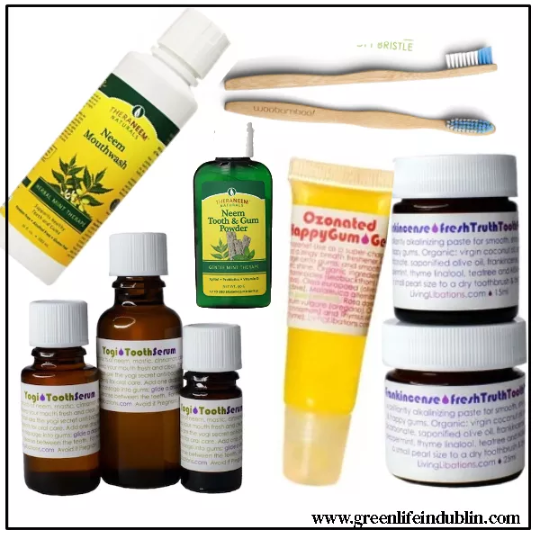 No cavities with these natural & holistic dental products!