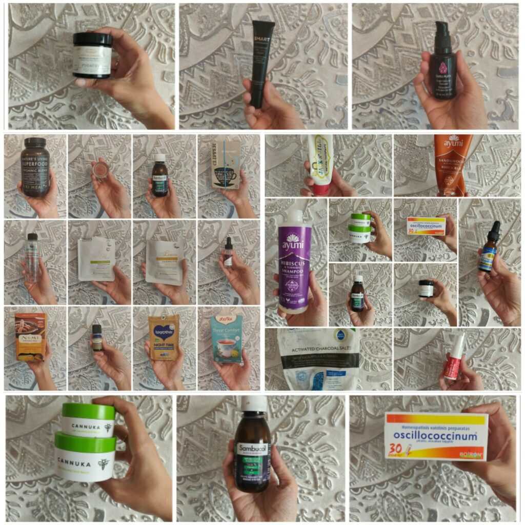 natural and organic empties
