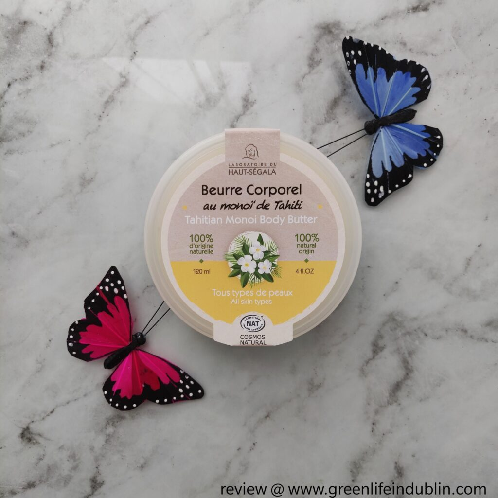 Tahitian Monoi Body Butter by Laboratoire du Haut-Segala review
