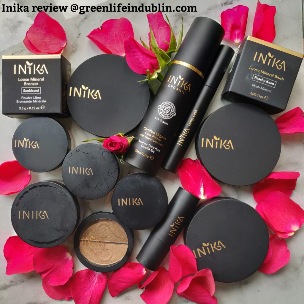 Inika Make Up Review