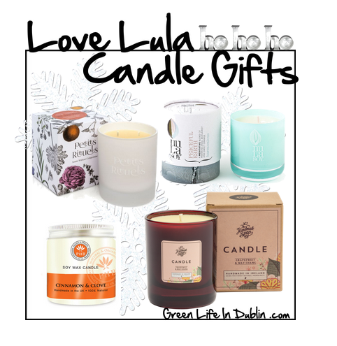 Natural Candle Gifts at Love Lula