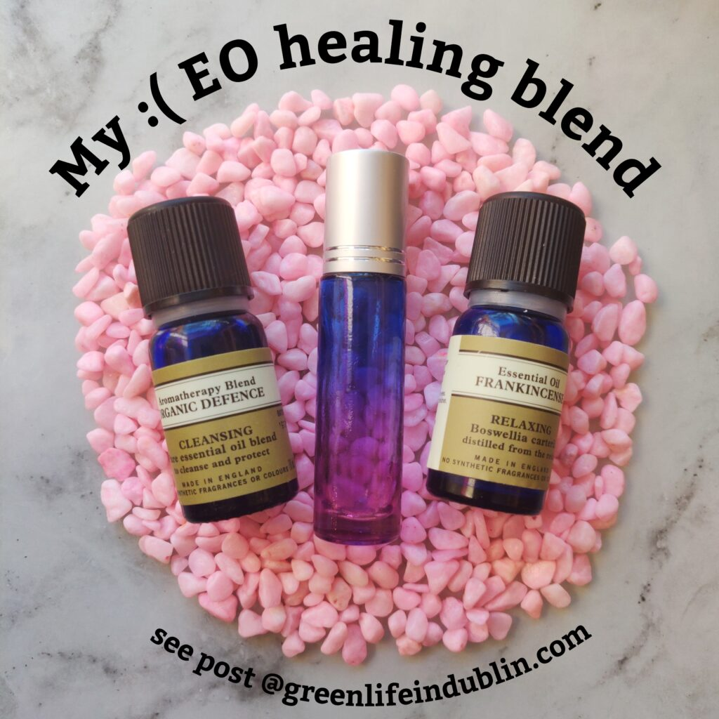 My healing essential oil blend