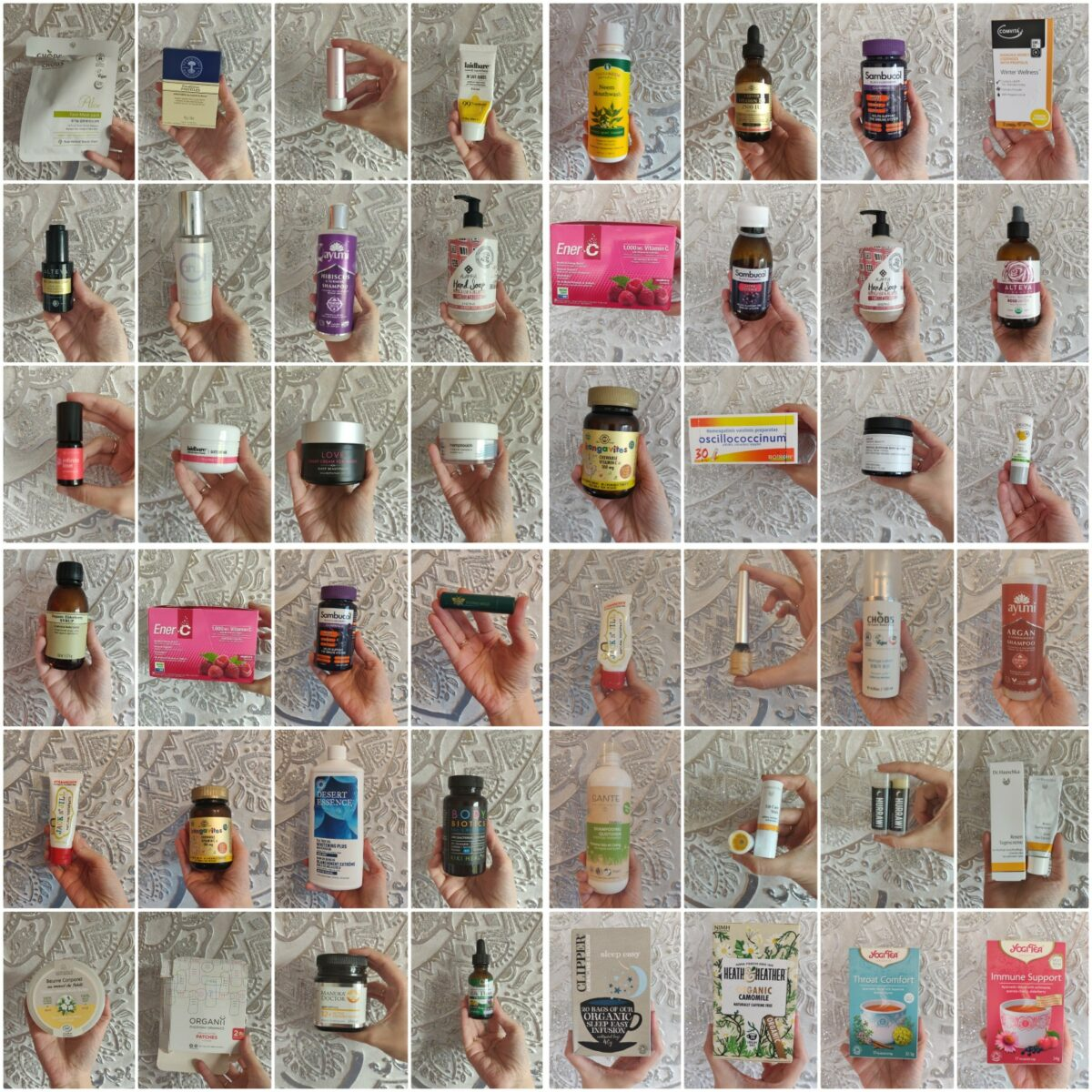 Winter 19-20 Natural & Organic Empties