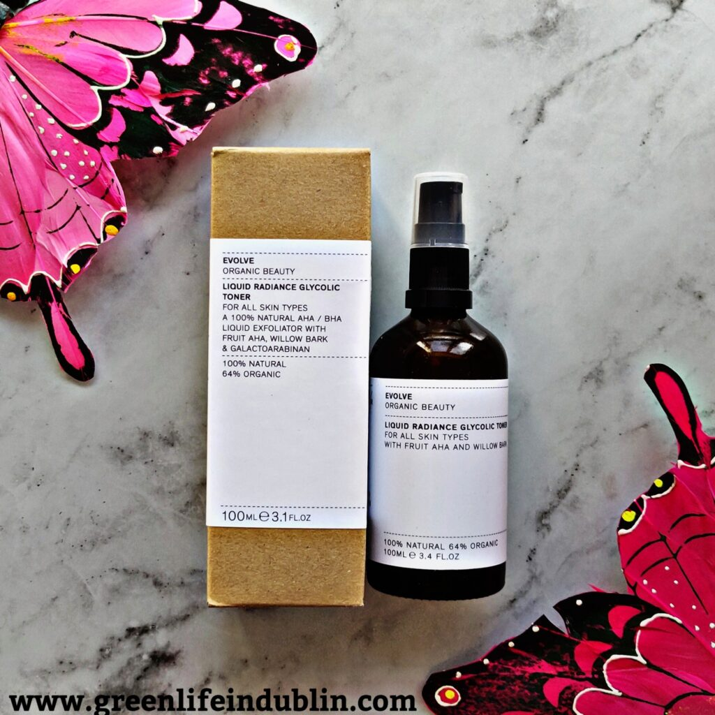 Evolve Organic Beauty Liquid Radiance Glycolic Toner Review