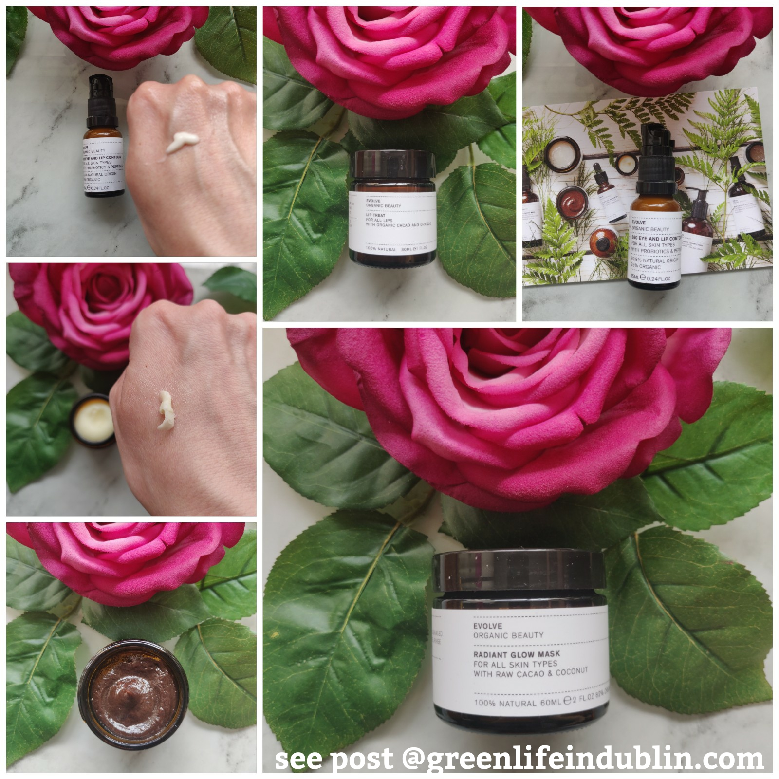 Evolve Organic Beauty products