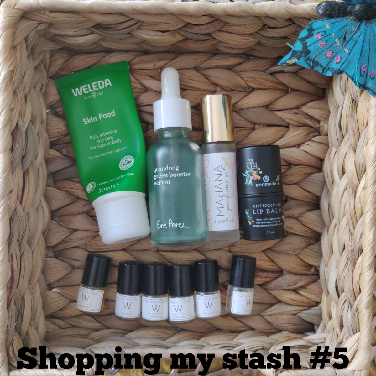 Shopping My Stash #5 – Natural & Organic Beauty