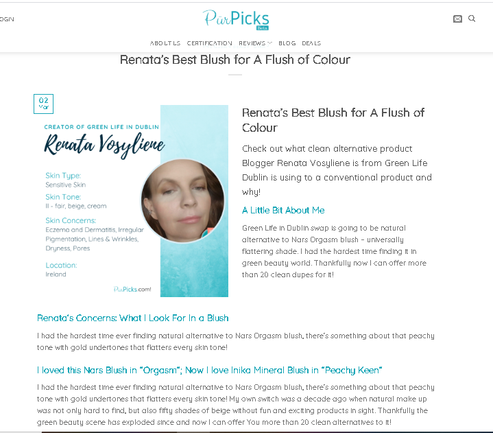 The Clean Beauty Swap 2020 Campaign & Me