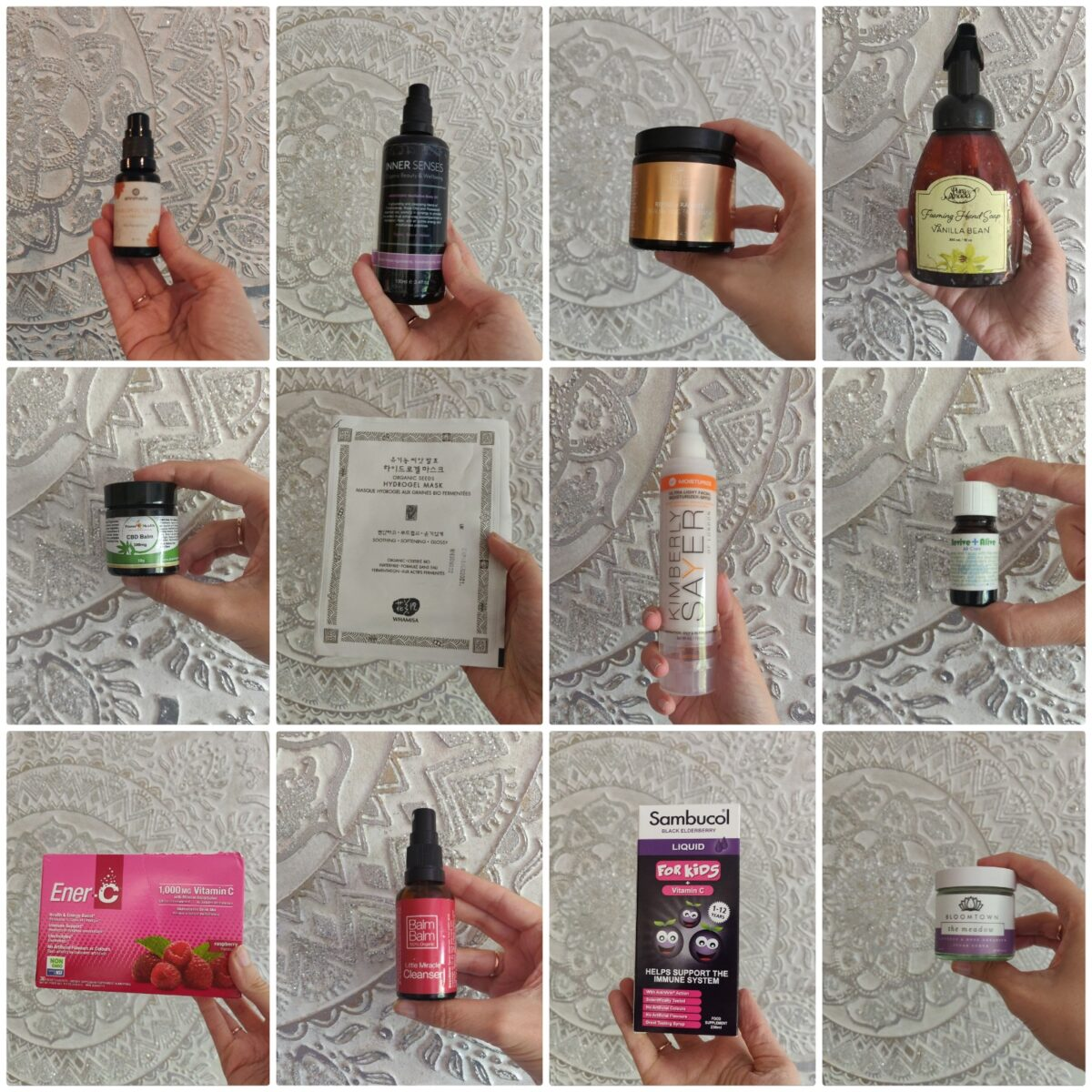 May 2020 Empties – Natural & Organic
