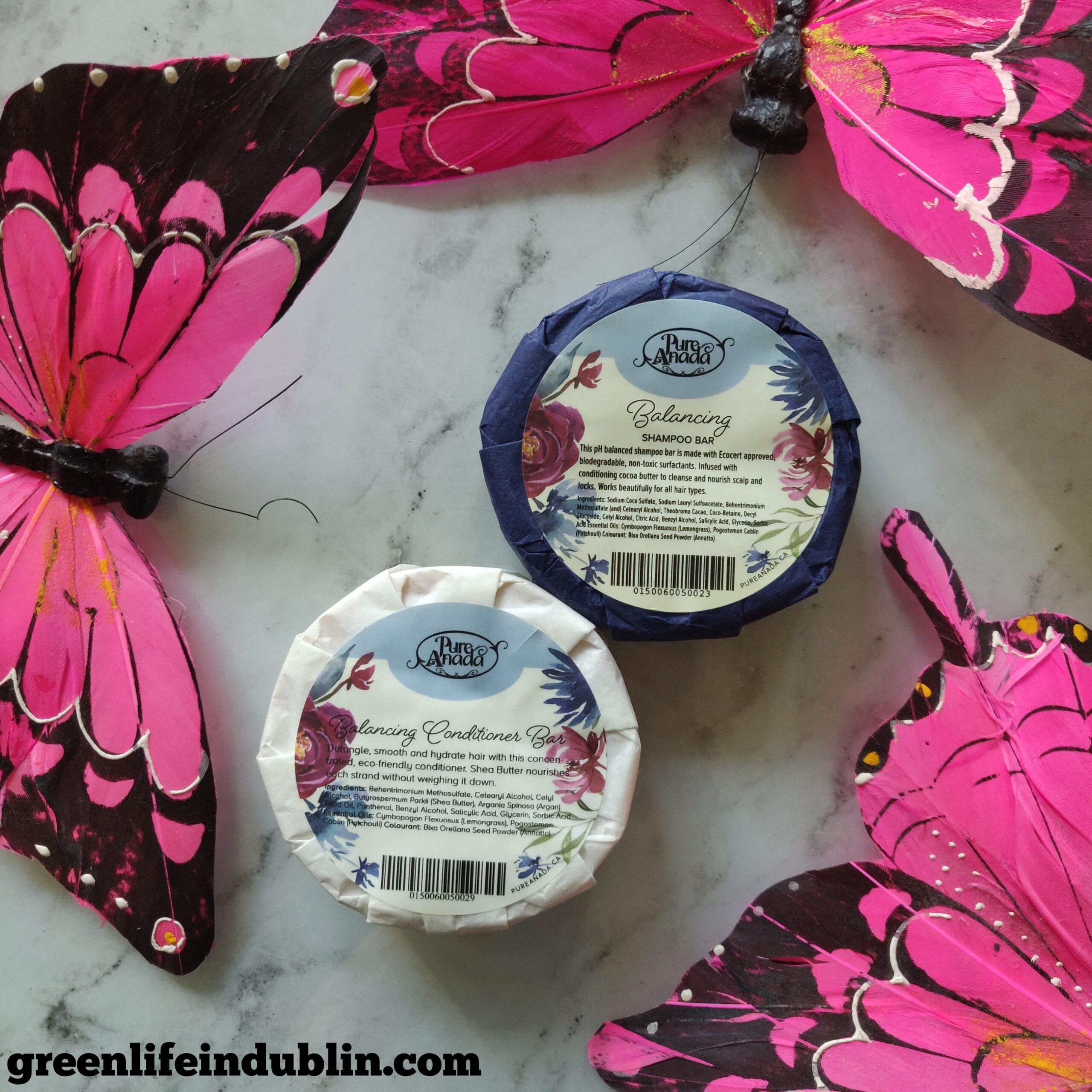 Pure Anada Balancing Shampoo & Conditioner