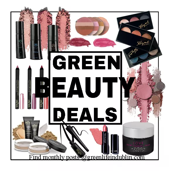 Green Beauty Deals & Discounts May 2020