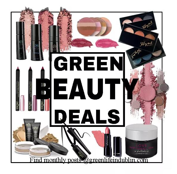 Green Beauty Deals & Discounts May 2020