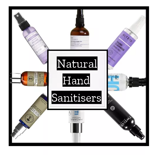 Natural hand sanitisers