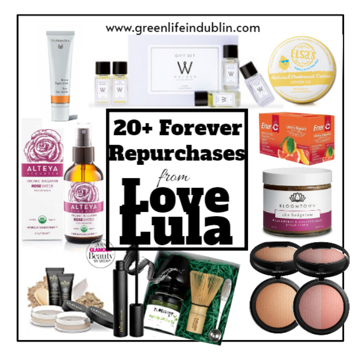 My 20+ Forever Repurchases From Love Lula