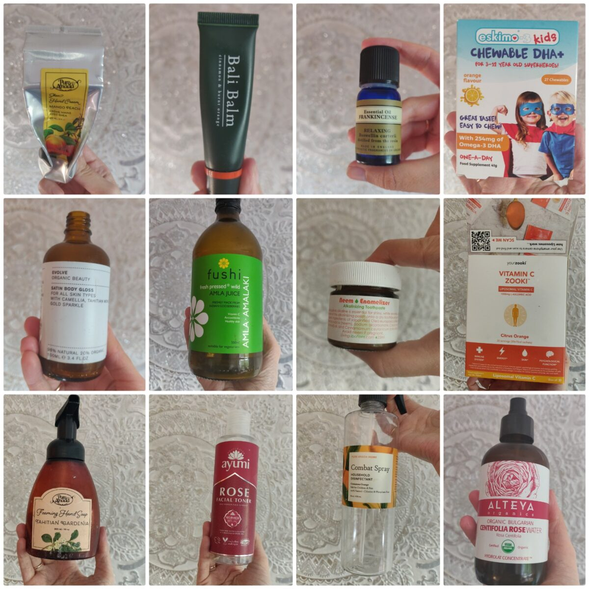 Natural & Organic Empties – Aug & Sept 2020
