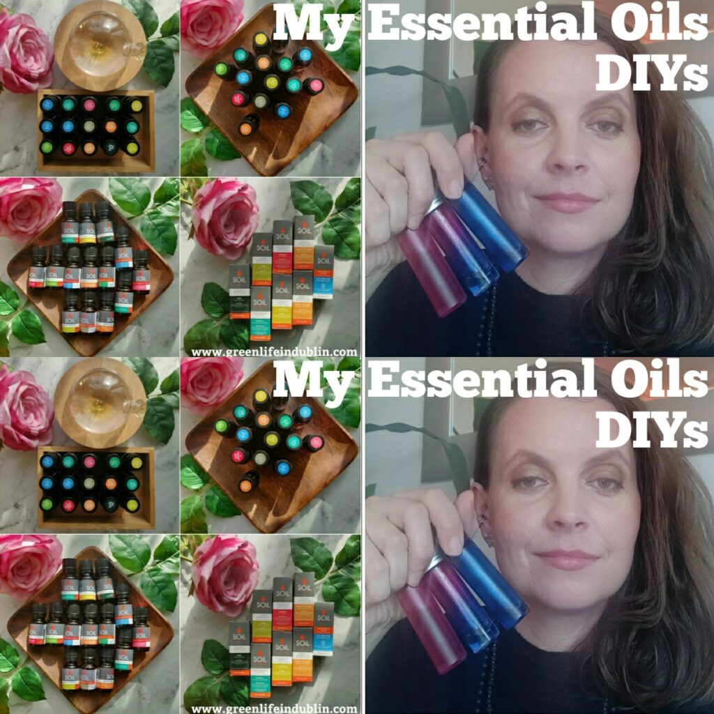 My Essential Oils DIYs - Healing Blend & Joy Perfume Roller