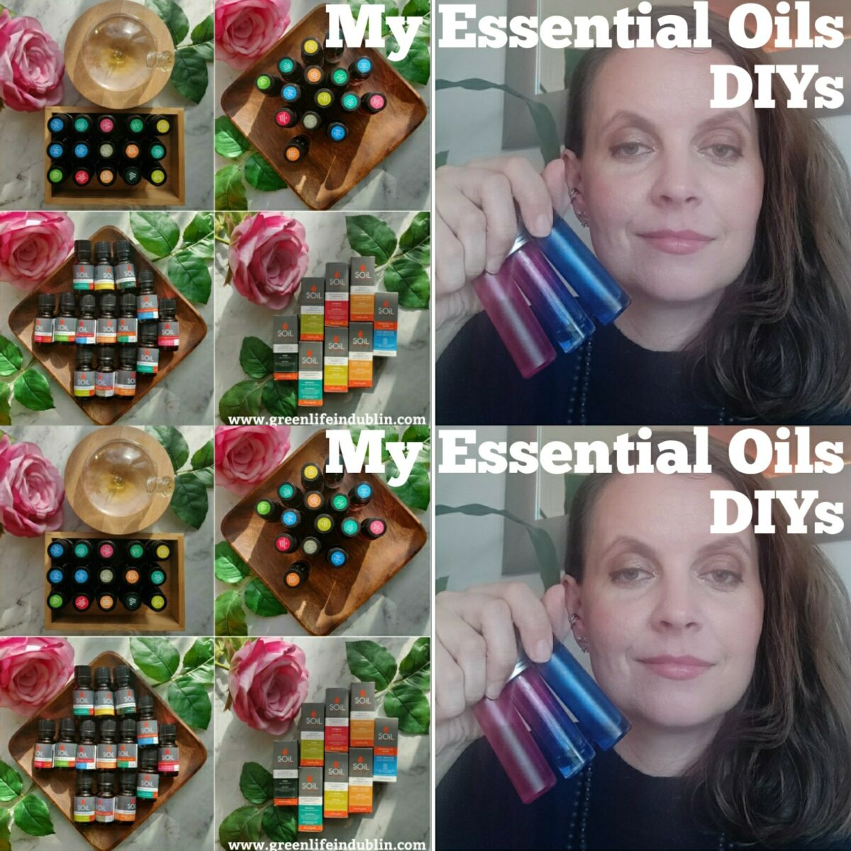 My Essential Oils DIYs – Healing Blend & Joy Perfume Roller