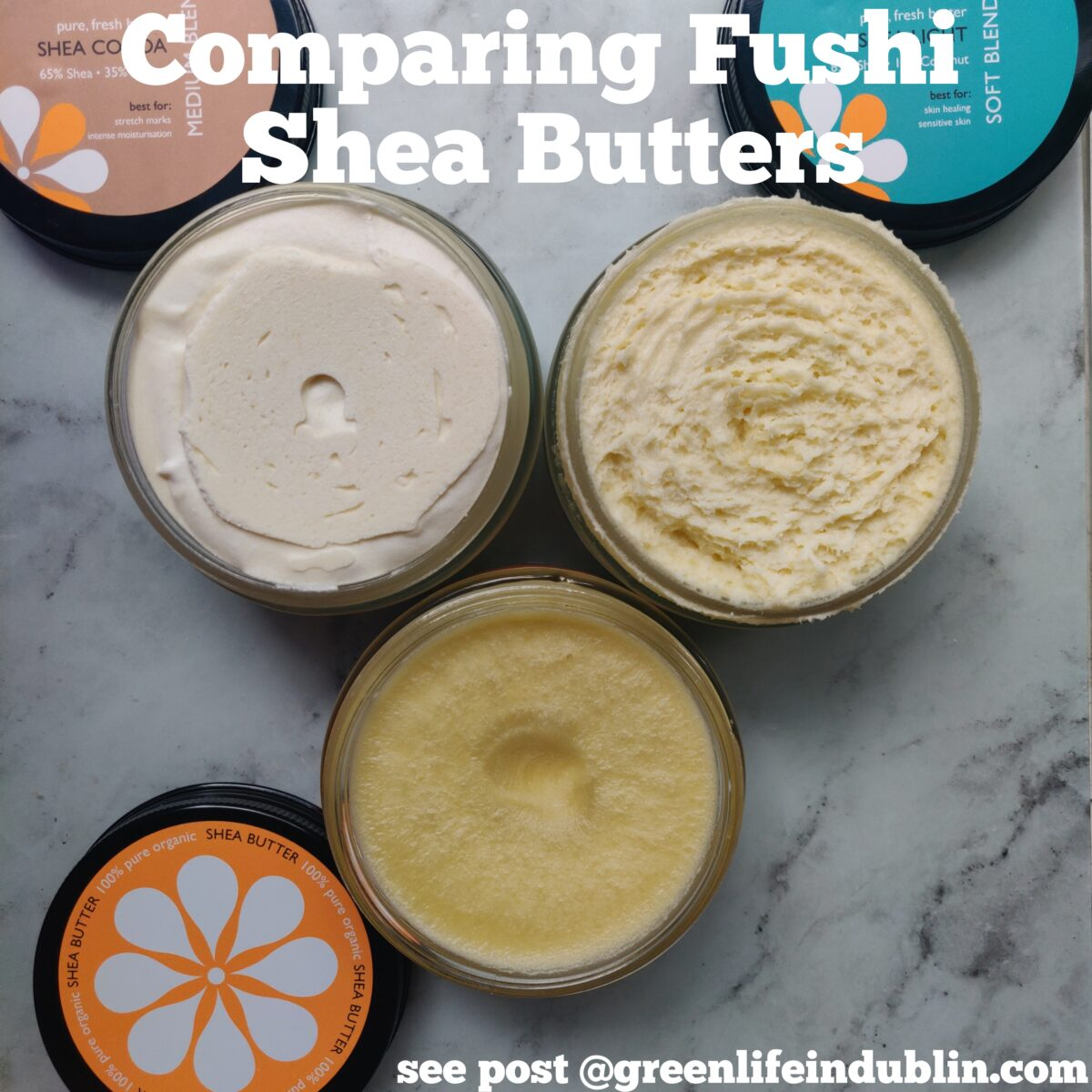 Fushi Shea Butters Comparison & Review
