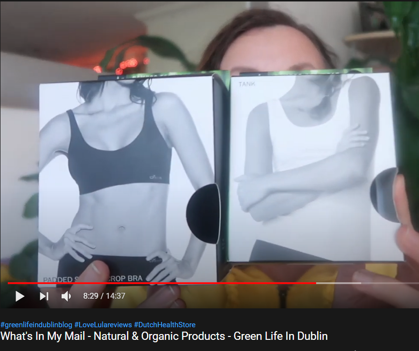 Boody Organic Bamboo Activewear Review [Green Life In Dublin]