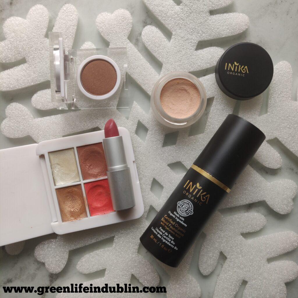 natural make up look using RMS Beauty & Inika