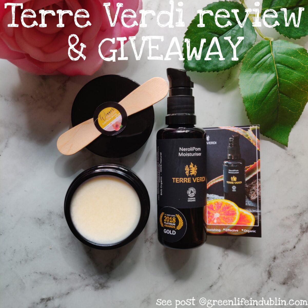 Terre Verdi review & giveaway