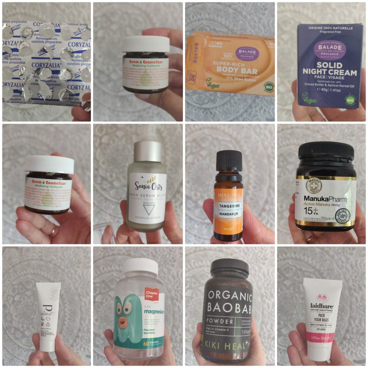 Natural Empties April 21 – Collab w Natural Beauty With Baby