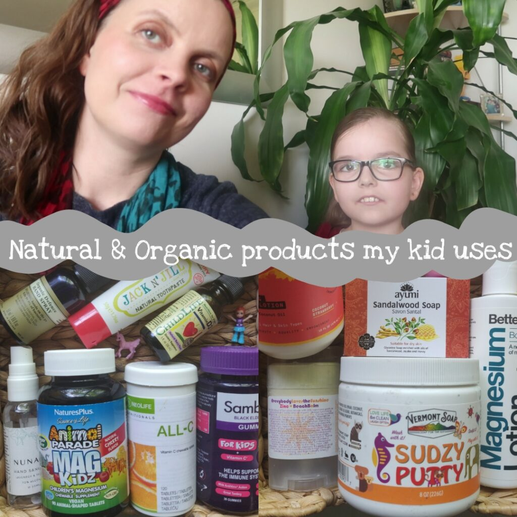 Natural & organic products my child uses - Green Life In Dublin