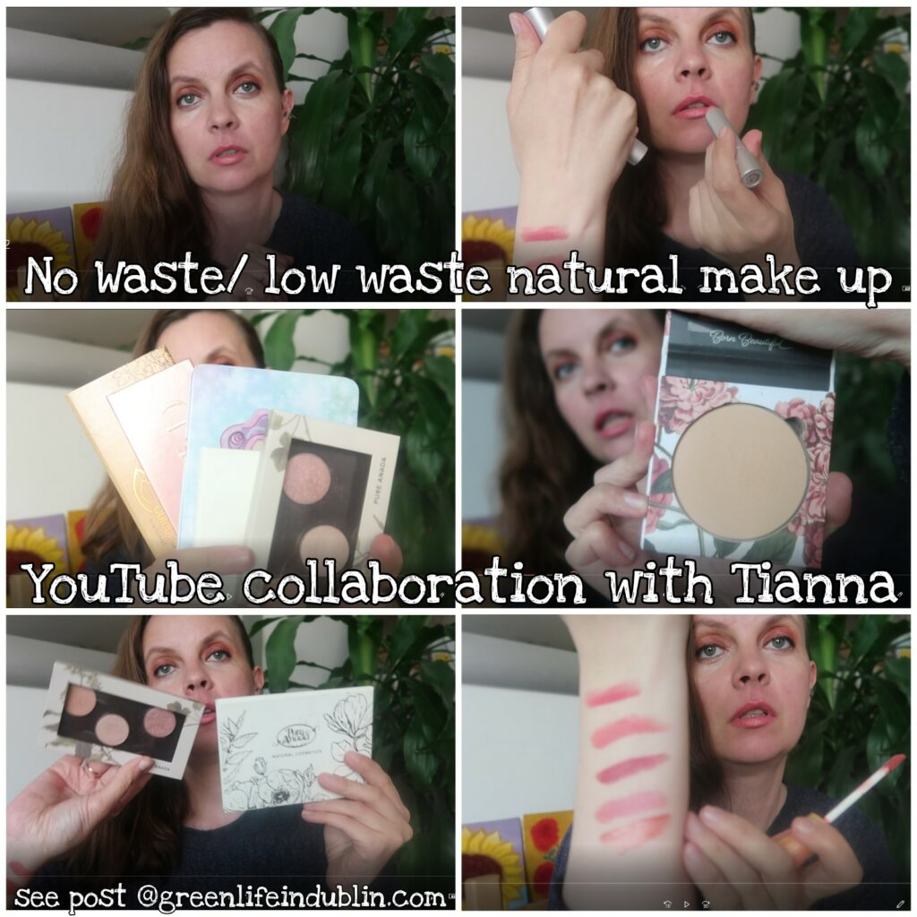 Zero Waste/ Low Waste Natural Make Up Faves - Youtube Collab with Tianna