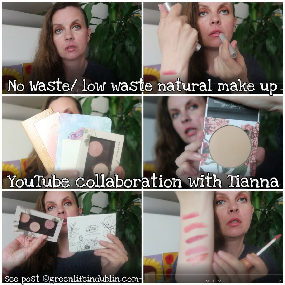 Zero Waste/ Low Waste Natural Make Up Faves – Youtube Collab with Tianna