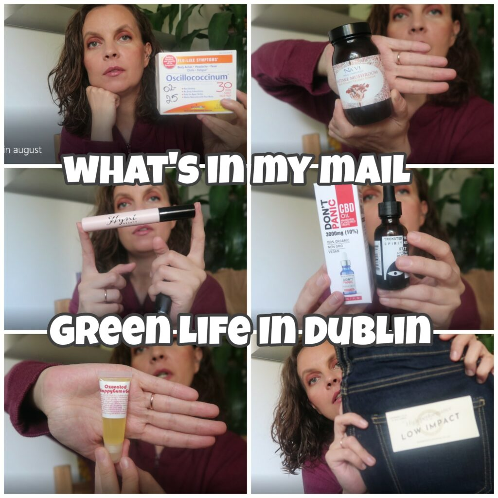 What's in my mail - August 21 - Green Life In Dublin