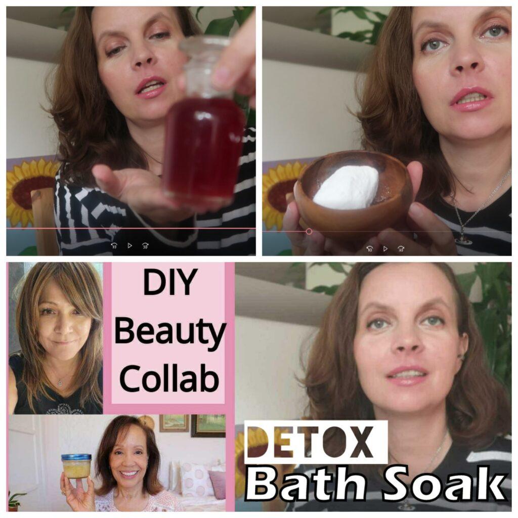 DIY Detox Bath Recipe - Youtube collaboration