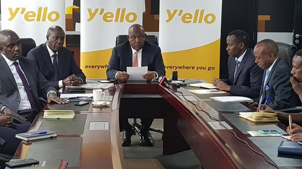 MTN Group Chairman Charles Mbire