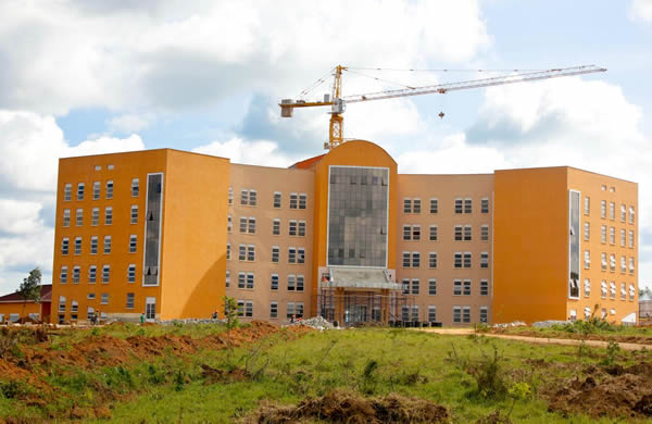 Mbarara University of Science and Technology building