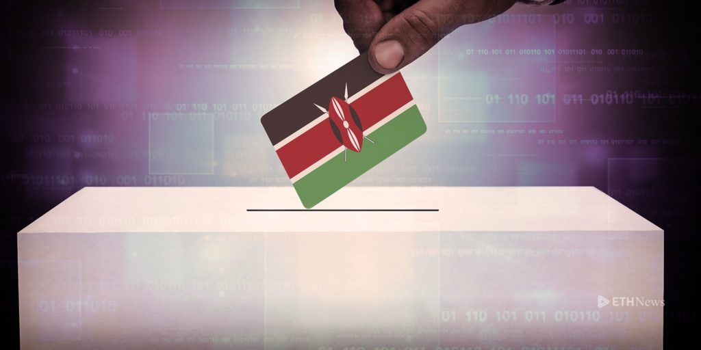 Blockchain voting in Kenya