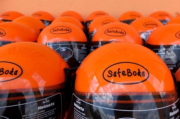 Allianz X GoJek invest safeboda SafeBoda 50% discounts ride-hailing helmets
