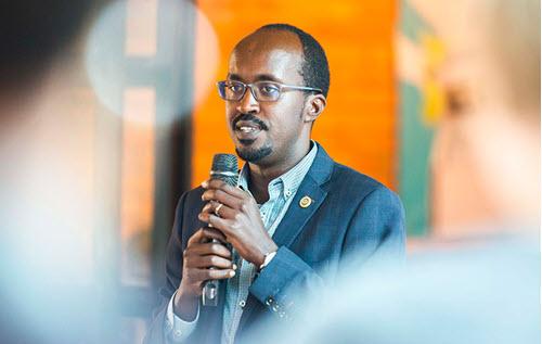 Clement Uwajeneza Andela Rwanda country director