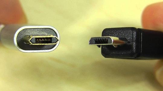 Micro USB and USB Type C