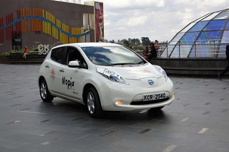 EkoRent brought Nopia Ride an electric taxi-hailing company in Kenya