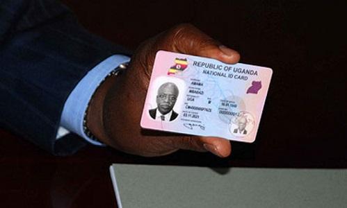 Uganda national ID replacement