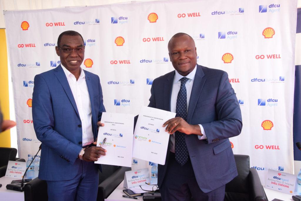vivo energy uganda MD and dfcu bank MD
