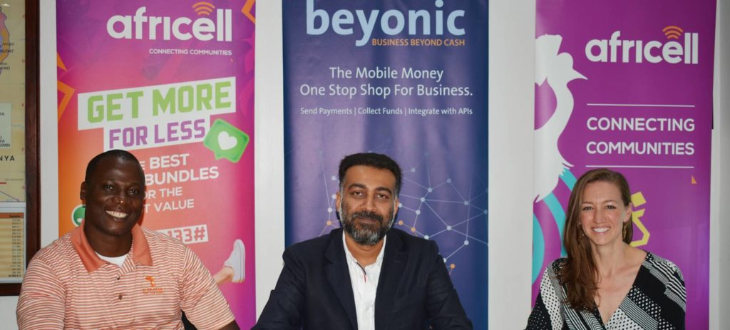 africell money payments beyonic