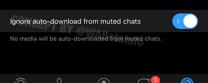 muted chats concept