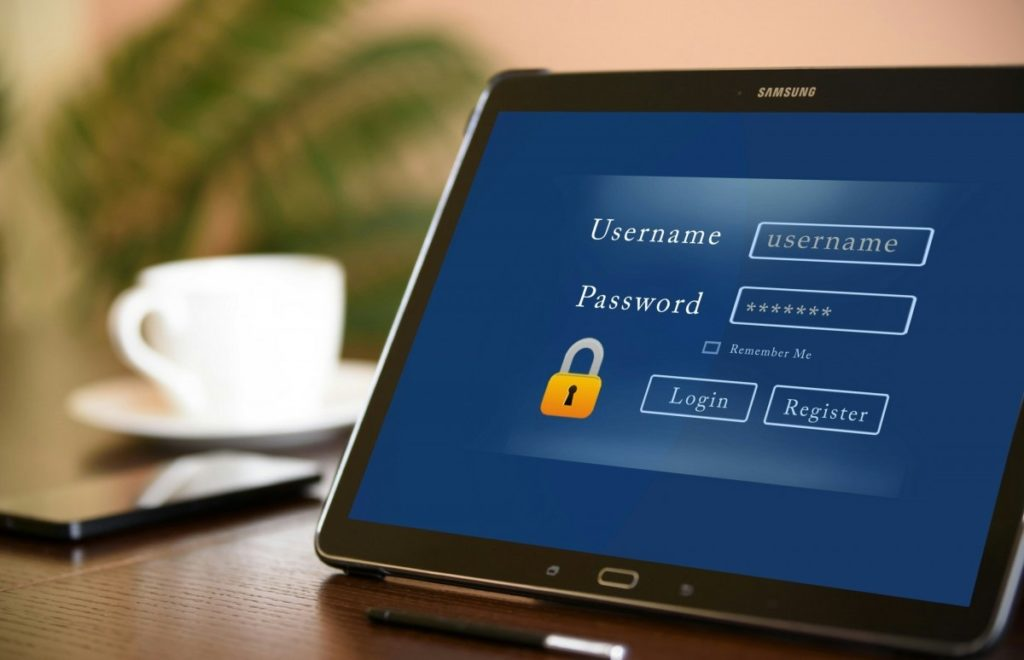 keep your password secure