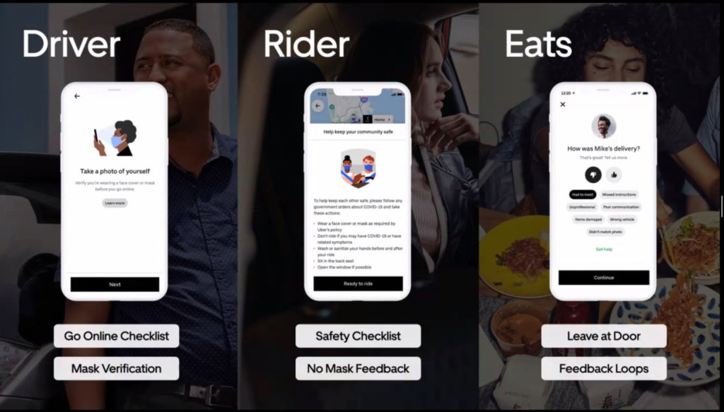 uber app covid-19 safety