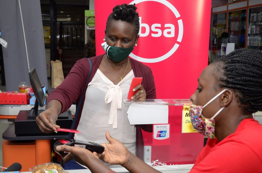 Absa Bank contactless tap functionality