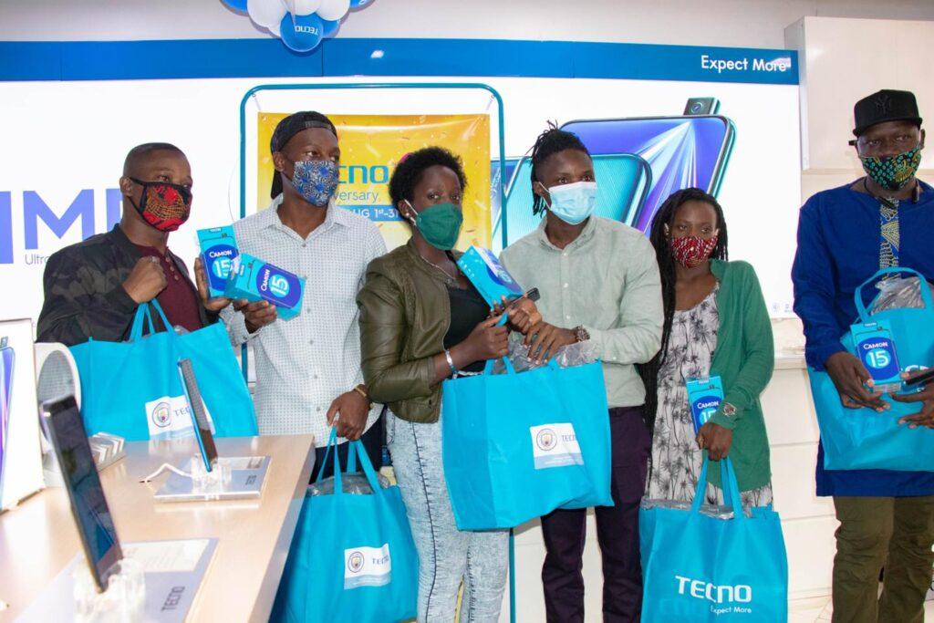 tecno mobile uganda 12th anniversary