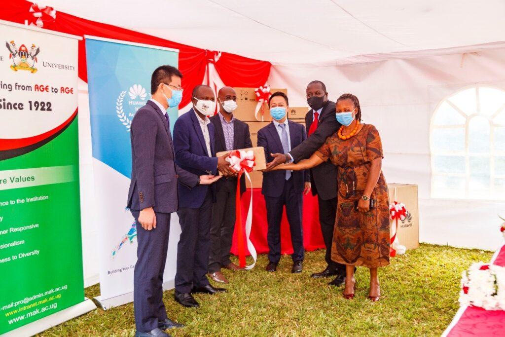 huawei donates network equipment to makerere university