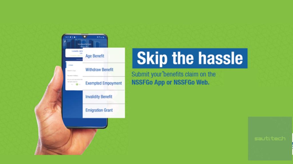 nssf online benefits claim