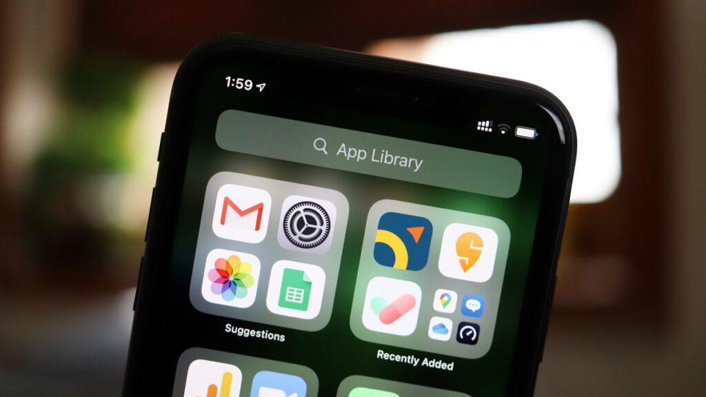 App Library on iOS 14