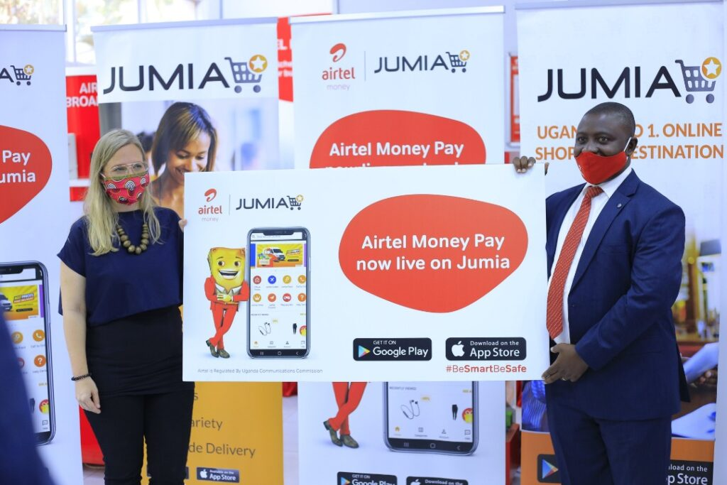 jumia airtel money pay