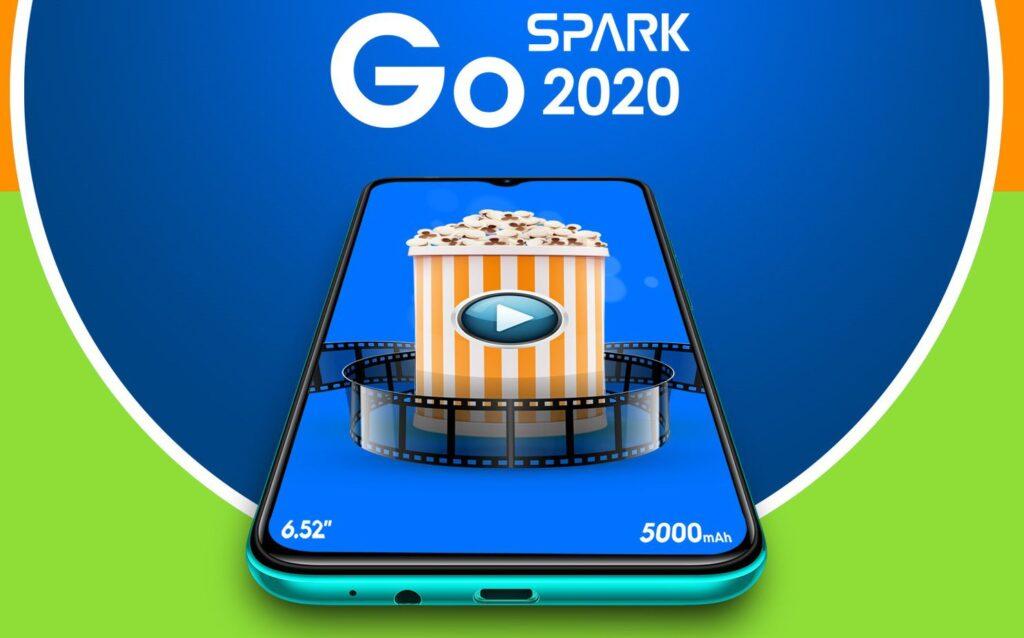 tecno spark go 2020